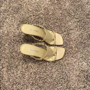 Really cute Vintage Ann Marino mules sandals